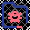 Folder Virus Insect Virus Icon
