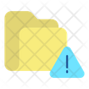 Folder Alert Folder Warning Alert Icon