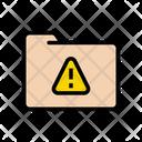 Folder Files Warning Icon