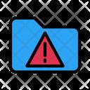Folder Warning Error Icon