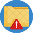 Folder Warning Folder Warning Icon