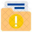 Folder Warning Folder Alert Alert Icon