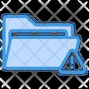 Folder Warning Folder Warning Icon