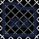 Folder Xls Icon