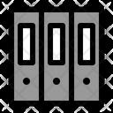 Folders Office Equipment Icon