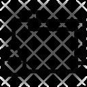 Folders Lock Sign Icon