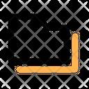 Folders Files Sign Icon