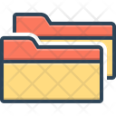 Folders File Documents Icon