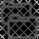 File Folders Folders Data Folders Icon