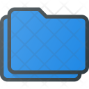 Folders Stack Directory Icon