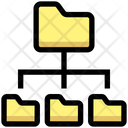 Folders Connection Icon