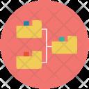 Folders Hierarchy Online Icon