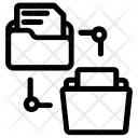 Folders Network Icon