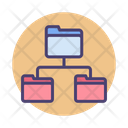Folders Network Structure Structure Folder Icon