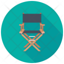 Folding Chair Furniture Icon