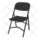 Folding Chair Metal Chair Chair Icon