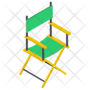 Folding Chair Seat Chair Bar Chair Icon