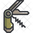 Folding Knife Penknife Jackknife Icon