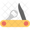 Swiss Knife Folding Icon