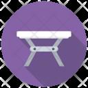 Table Folding Iron Icon