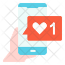 Followers Social Media Like Icon