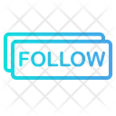 Follow Button Follower Icon