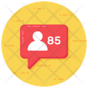 Likes Comments Social Media Icon
