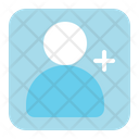 Follower Network Connection Icon