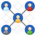 Followers Group Share Icon