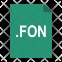 Fon Font File Icon