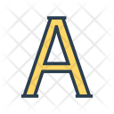 Font Text Alphabet Icon