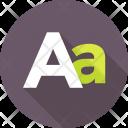 Alphabet Letter English Icon