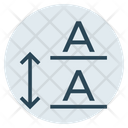 Font Text Padding Icon