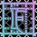 Font Letter Shapes Icon