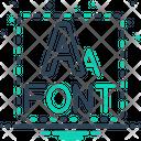 Font Script Type Icon