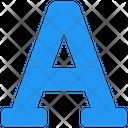 Font Font Adjustment Font Design Icon