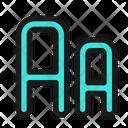 Font Size Letter Icon