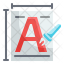 Font Typography Document Files Text Icon