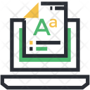 Font Document Text Icon