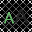 Font Size Resize Icon