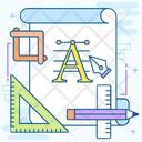 Font Design Icon
