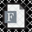File Font Book Icon