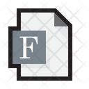 Font File Icon