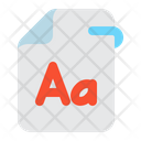 Font File Font File Icon