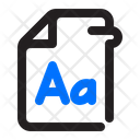Document Type Letter Icon