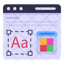 Font Style Icon