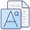 Type Font Fonts Icon