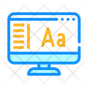 Fonts Connection Computer Icon
