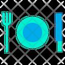 Food Restaurant Plate Icon