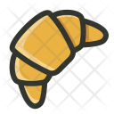 Food Breakfast Croissant Icon